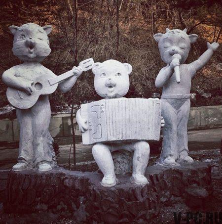 Статуи в Северной Кореи