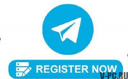 телеграмм регистрация на русском